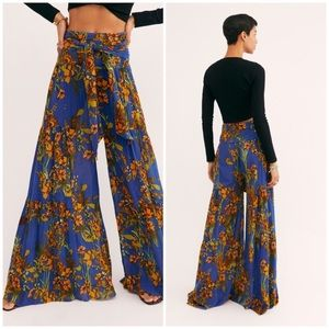 NWOT Free People Aloha Wide Leg Pants